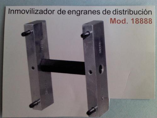 inmovilizador para engranes de banda de distribucion