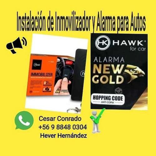 inmovilizadores y alarmas