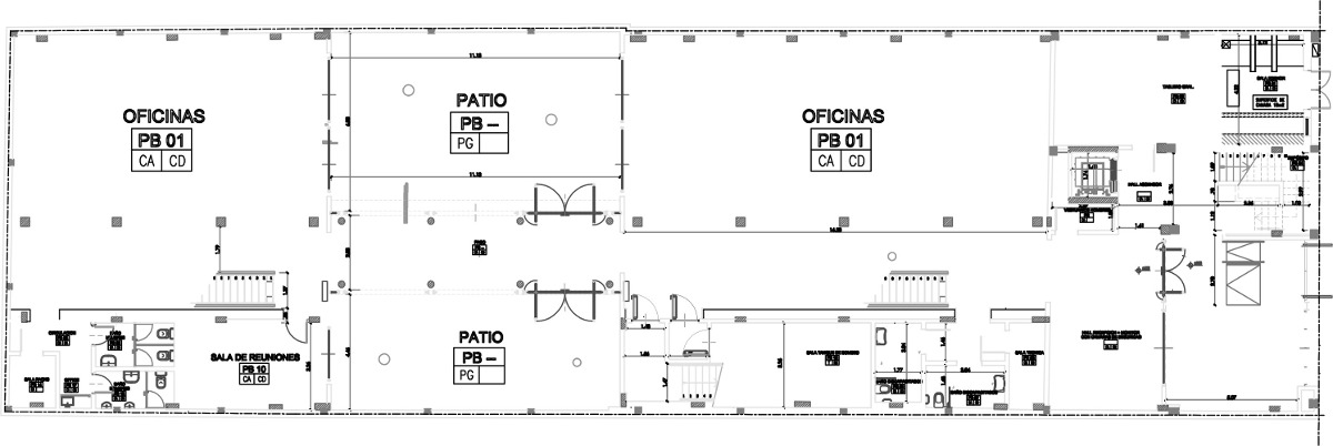 inmueble de oficinas venta/alquiler - guevara 93