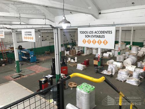 inmueble industrial - alquiler - 1000m2 - jose leon suarez