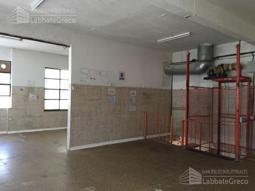 inmueble industrial - alquiler - 250m2 - villa lynch