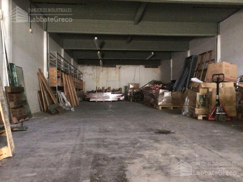 inmueble industrial - alquiler - 460m2 - villa lynch