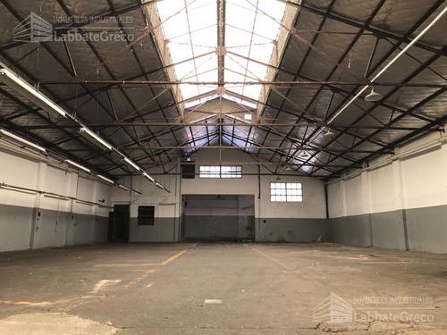 inmueble industrial - alquiler - 750m2 - villa lynch