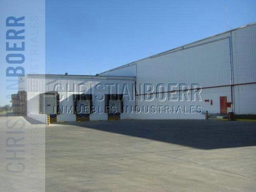 inmueble industrial de 10.200 m2 zarate.