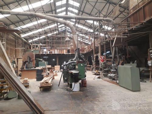 inmueble industrial - venta - 1020m2- villa lynch