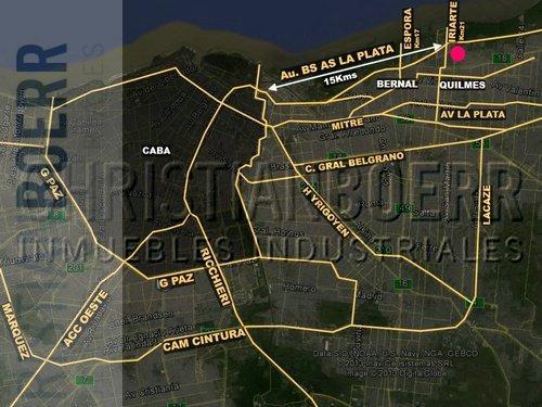 inmueble industrial y logístico de 9.000m cub