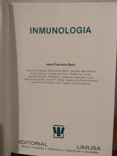inmunología. jean-françois bach