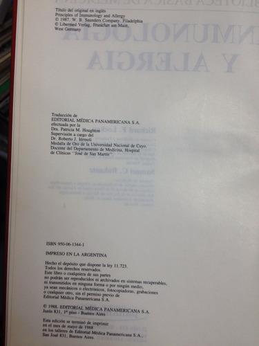 inmunologia y alergia - lockey bukantz - ed. panamericana