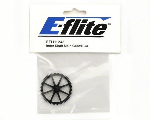 inner shaft main gear. f/blade bcx, cx2, cx3. e-flite.!