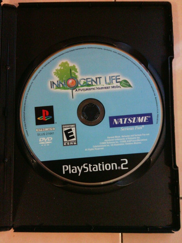 innocent life : a futuristic harvest moon - ps2 - game freak