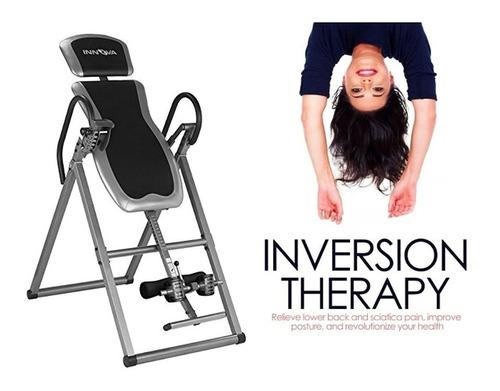 innova tabla inversion espalda lumbar columna quiropractico