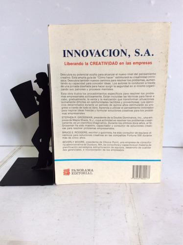 innovación s.a., liberando la creatividad de las empresas