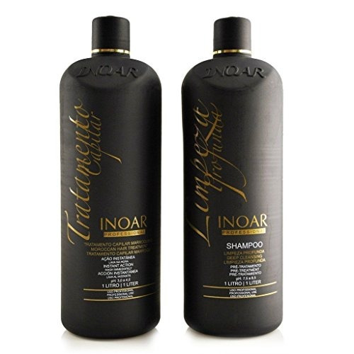 inoar brazilian keratin moroccan treatment blow dry hair str
