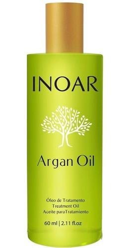 inoar óleo de argan sérum 60ml - ouro marroquino