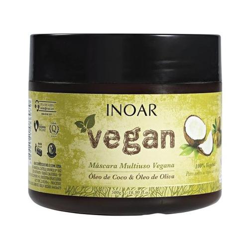 inoar - vegan - máscara multiuso vegana