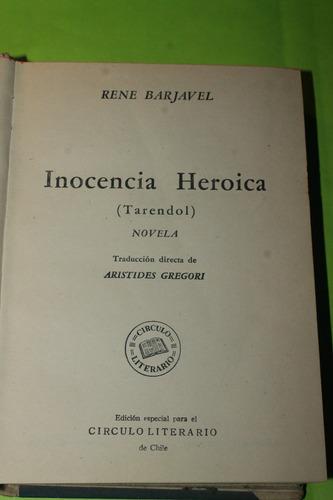 inocencia heroica  rene barjavel