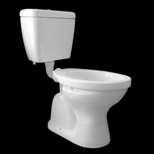 Inodoro con cisterna de colgar olmos eco plus blanco for Inodoro con cisterna