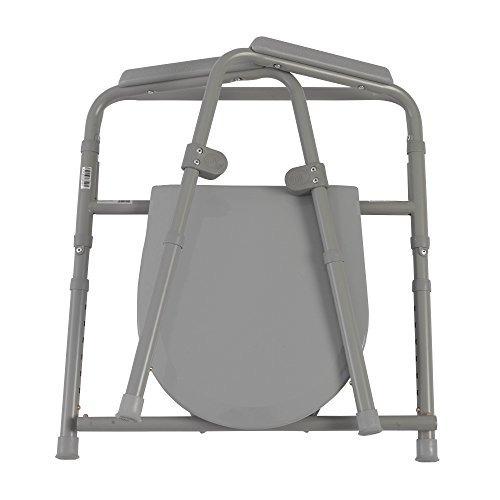 inodoro de acero plegable portátil drive medical