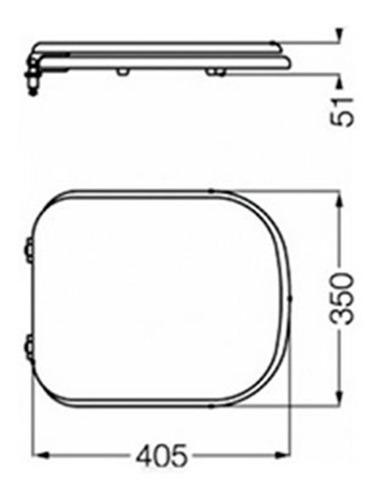 Inodoro ferrum bari largo mochila deposito dual asiento for Mochila para inodoro ferrum