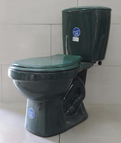 Inodoro mochila color verde primera corona ceramicasuy for Inodoro con mochila incorporada