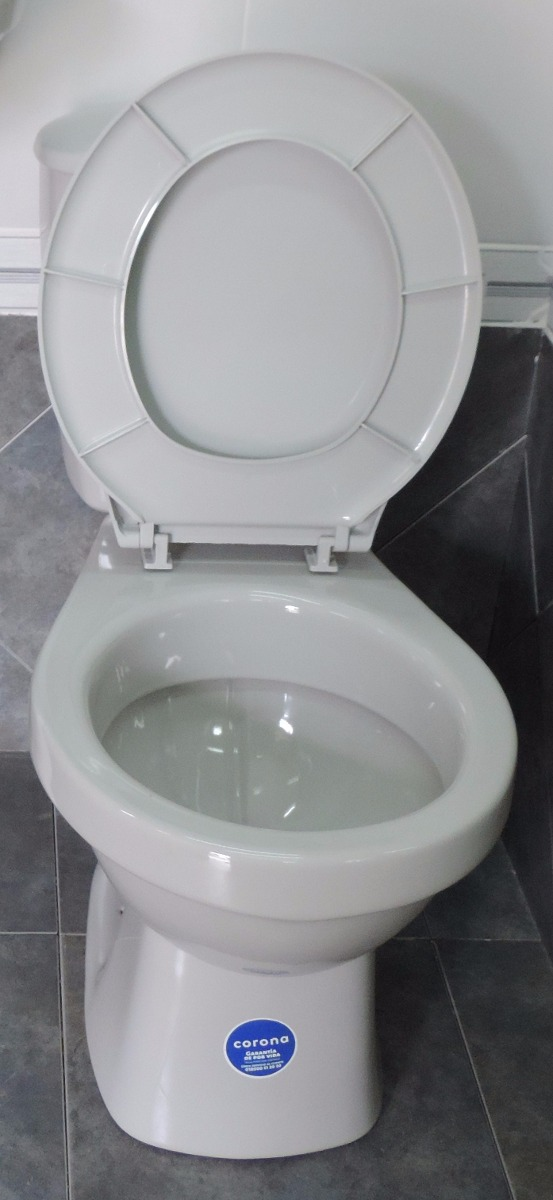 Inodoro mochila gris corona primera calidad ceramicasuy for Mochila para inodoro