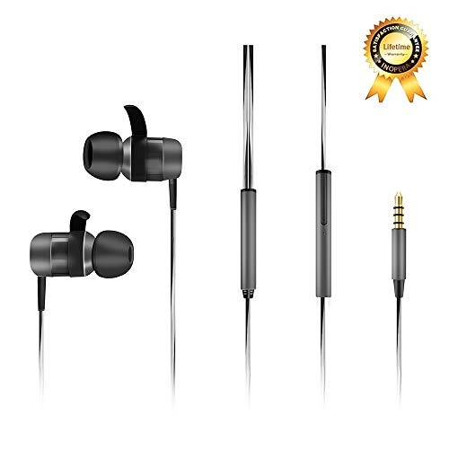 299748a51da Inopera Full Metal Earphones With Microphone Noise Isolating ...