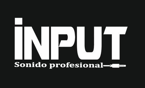 input- sonido profesional