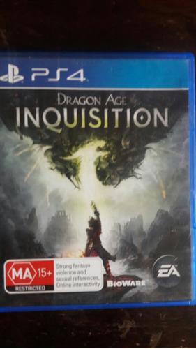inquisition ps4 dragon age