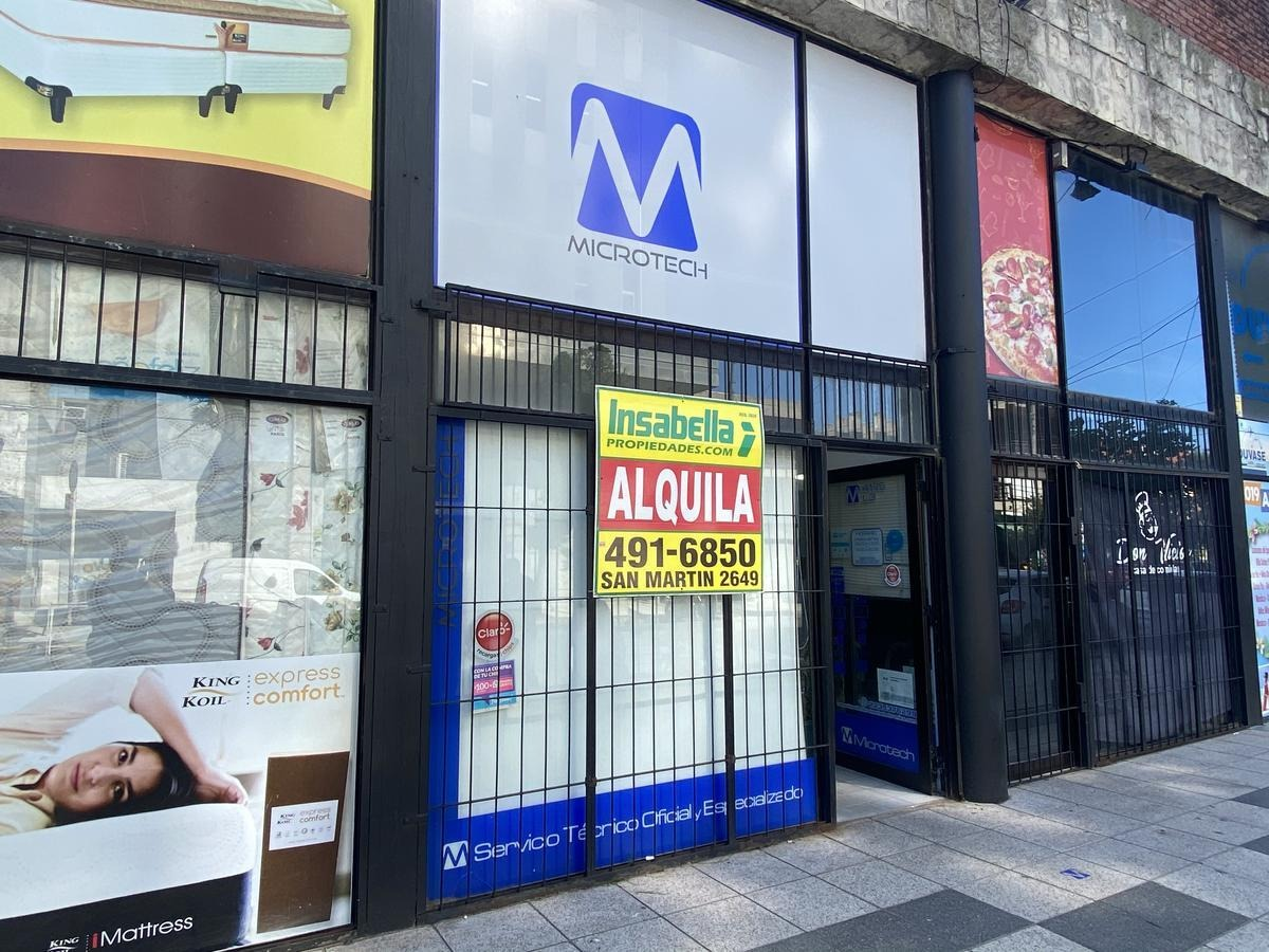 insabella propiedades - alquila local comercial