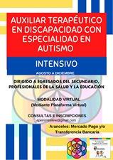 inscripción auxiliar terapéutico discap .con esp. en autismo