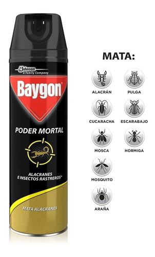 insecticida baygon poder mortal 400 mls.