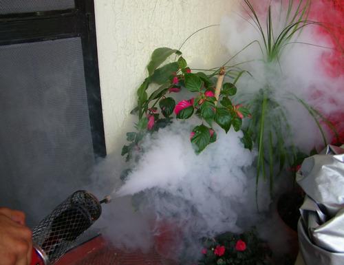 insecticida de amplio poder mini smart fogger