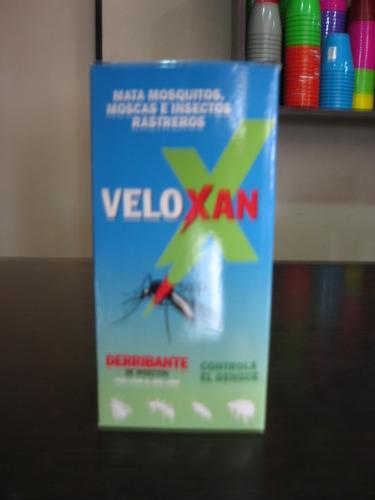 insecticida derribante veloxan 250cc mosquitos alacranes