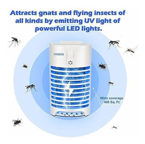 insecticida electrico de mosquitos zazper de toozor con luz