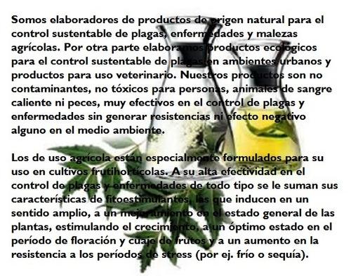 insecticida, nematicida, fungicida, fitoestimulante