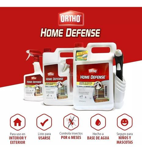 insecticida para el hogar home defense presentación 710ml