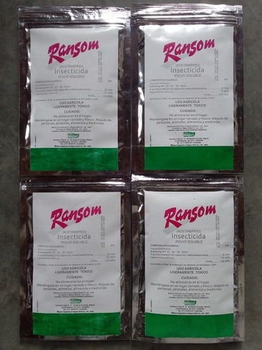 insecticida ransom para la mosca blanca uso agrícola