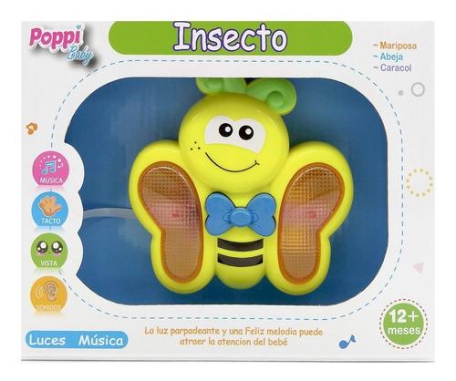insecto didactico abeja con luces y sonidos poppi 6743
