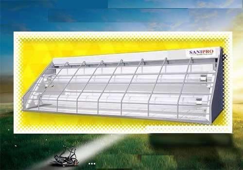 insectocutor. lampara ecológica. cubre 150 m². 15 wats
