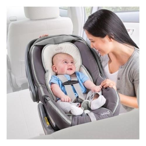 inserto acolchado para sillas de auto o coches snuzzler blan