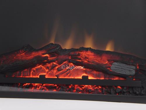 inserto chimenea calefactor electrico calentador decoración