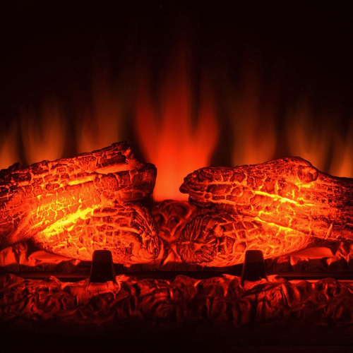 inserto chimenea calefactor electrico control remoto 33 pulg