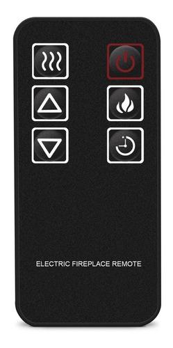 inserto chimenea eléctrica 26 pulg calefactor control remoto