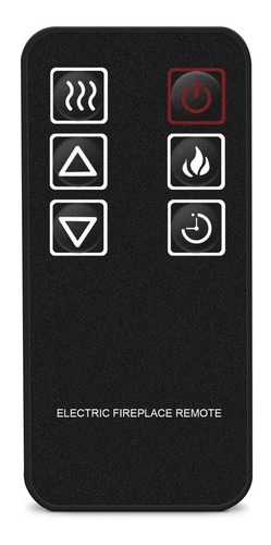 inserto chimenea eléctrica 28 pulg calefactor control remoto