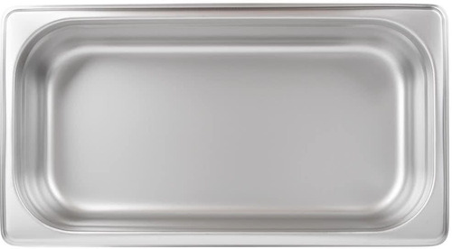 inserto contenedor acero inox tercio 2.5 pulgadas kit con 6