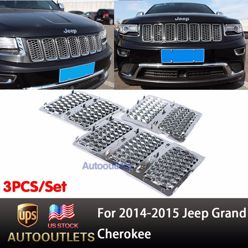 inserto cromados grand cherokke 2014 2015 importados