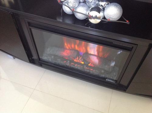 inserto de chimenea electrica calefactor control remoto