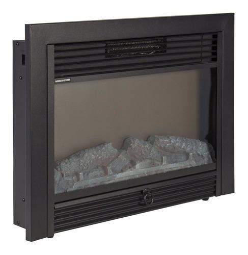 inserto de chimenea eléctrica calefactor control remoto