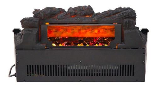 inserto de chimenea eléctrico troncos leñas leds calentador