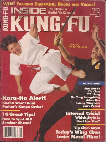 inside kung-fu aug.1991